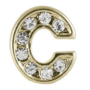 Picture of Gold 'C' Charm