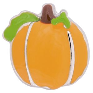 Picture of Green Leaf Pumpkin Charm